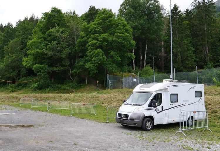 Bus et camping-cars à Salvan-Les Marécottes