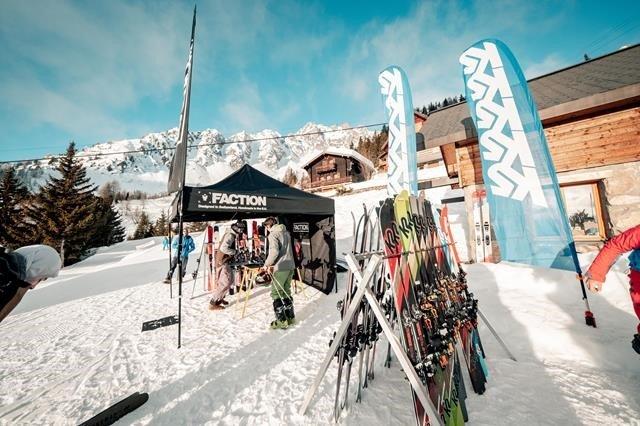 Ski test avec Look Montagne